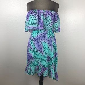 Strapless High Low Gianni Bini Sun Dress